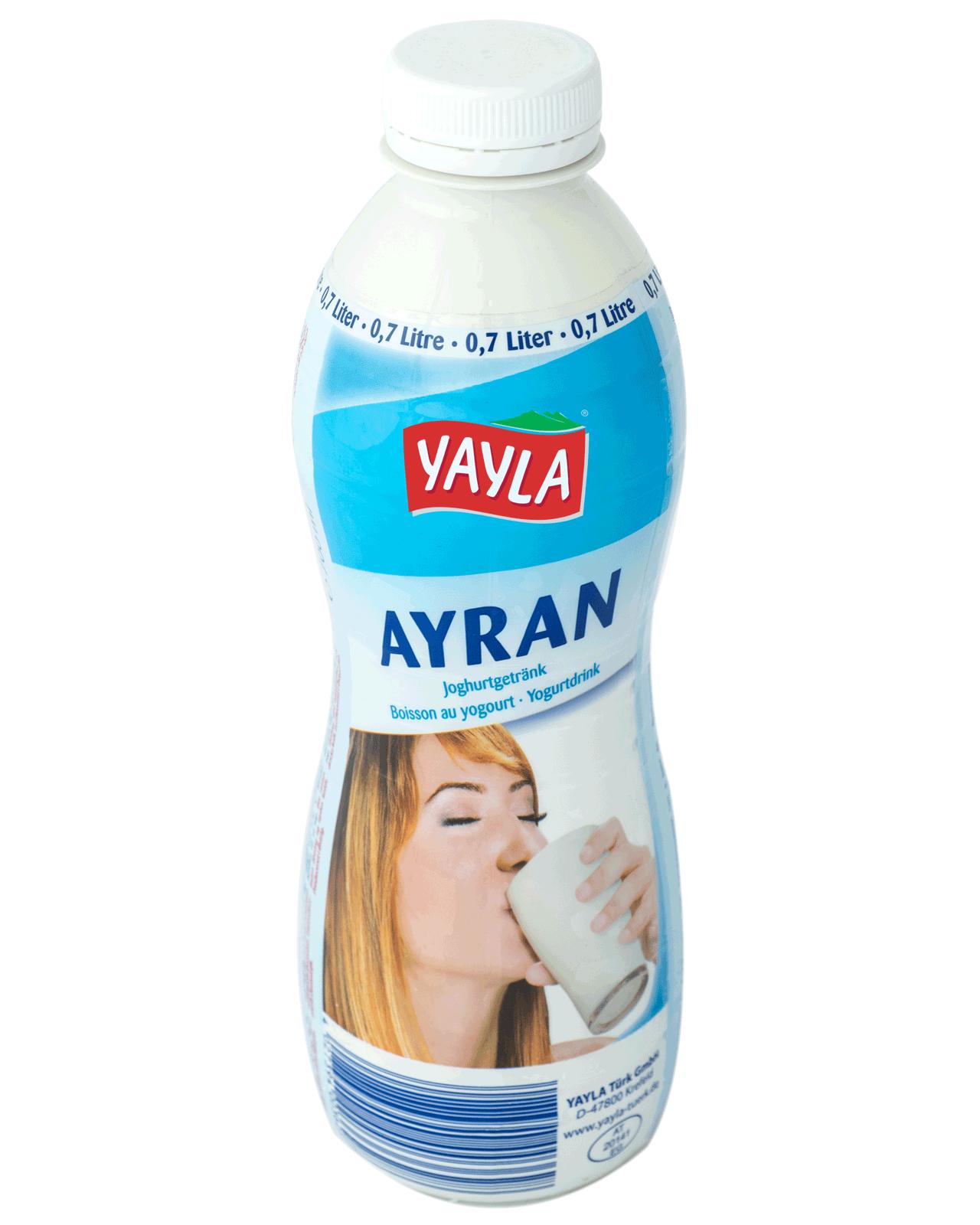 Yayla   Ayran - Erfrischungsgetränk aus Joghurt nach türkischer Art