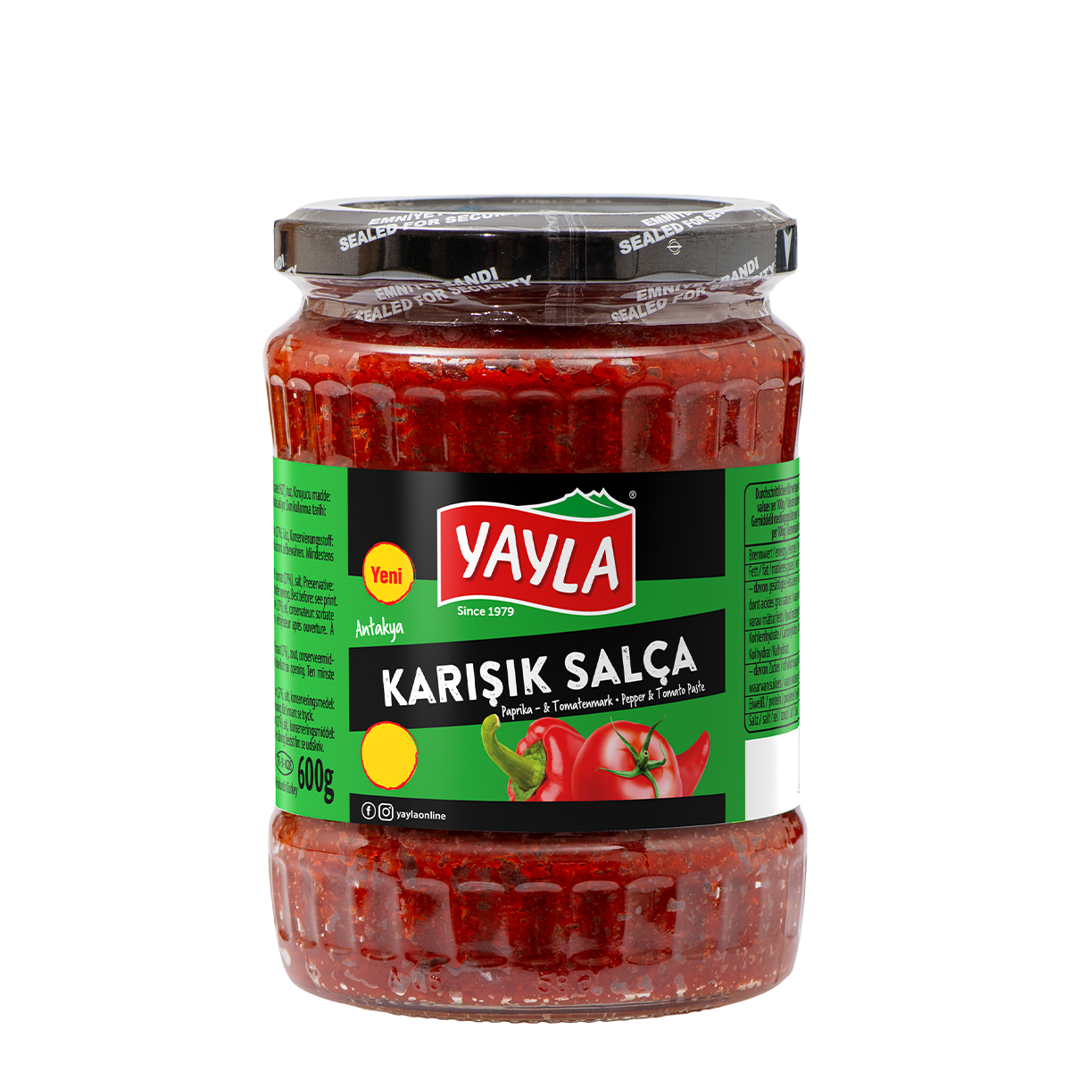 Paprika- & Tomatenmark