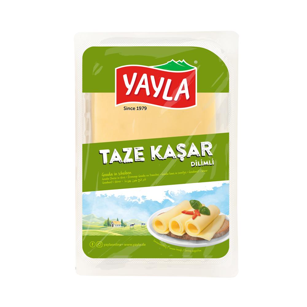 Gouda Käse in Scheiben