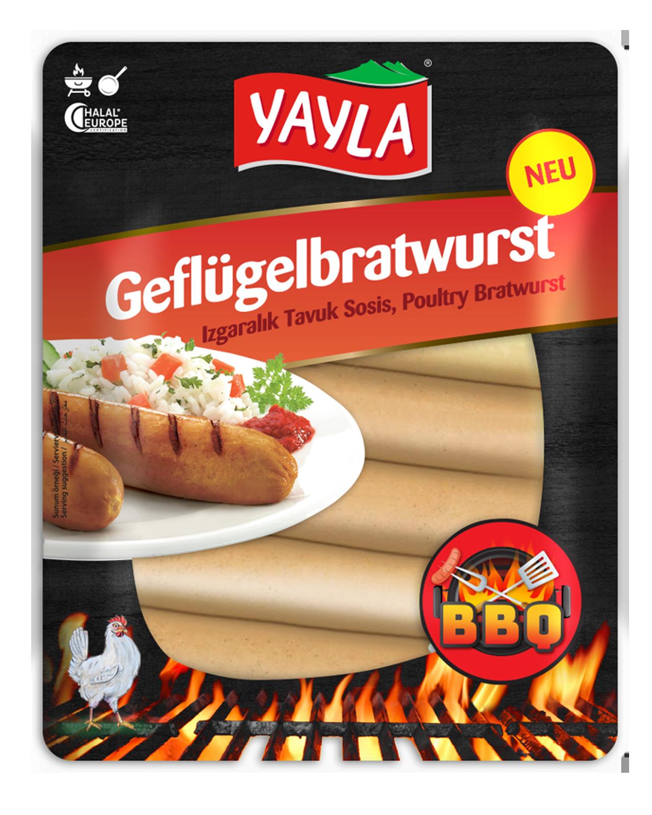 Yayla | BBQ Geflügelbratwurst