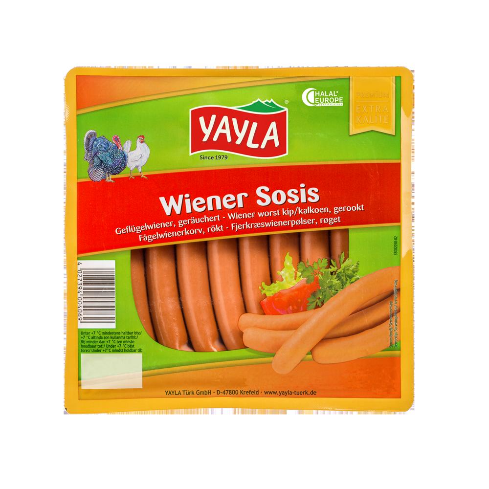Geflügel-Wiener