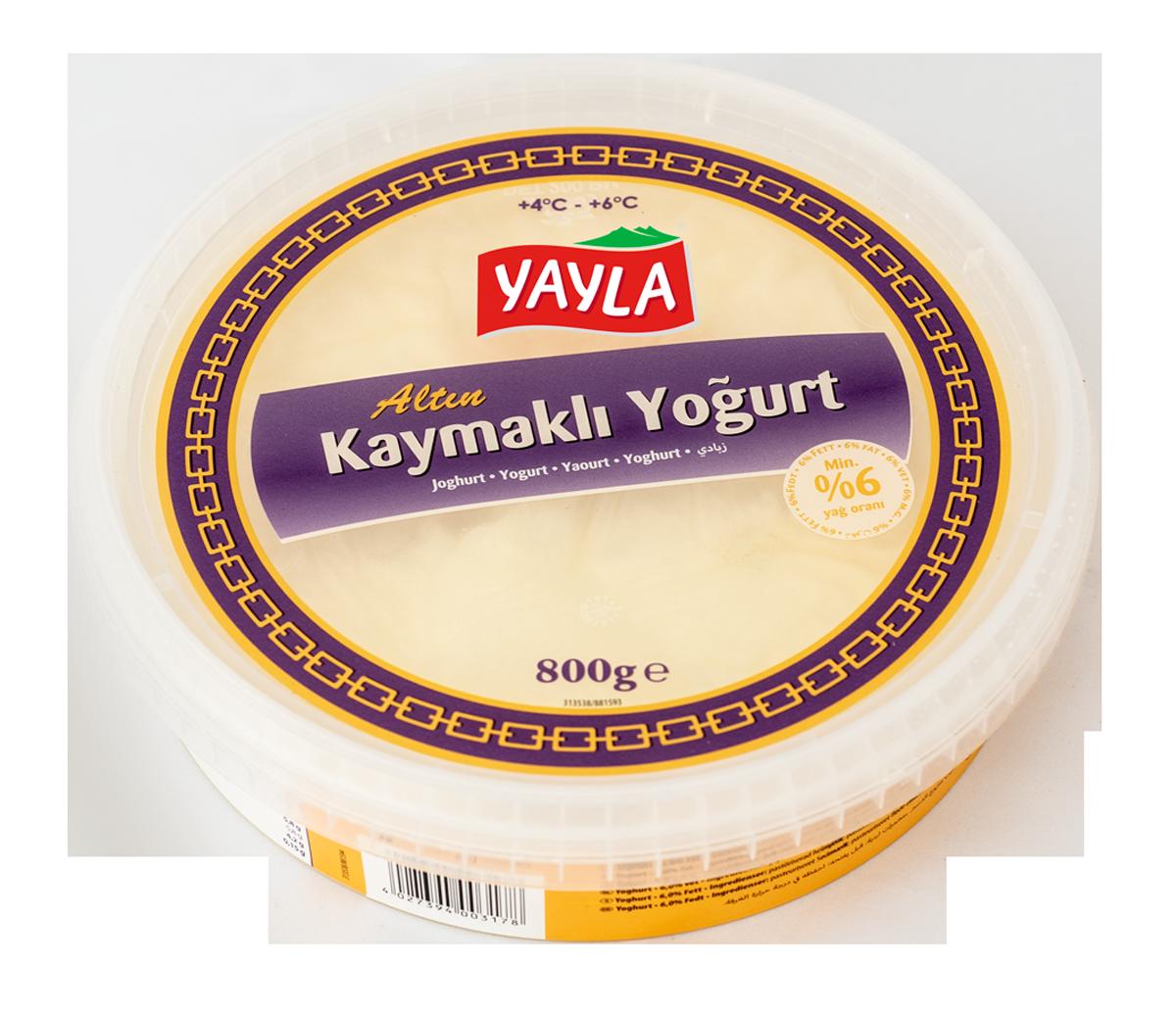 Joghurt mit Schichtrahm nach türkischer Art
