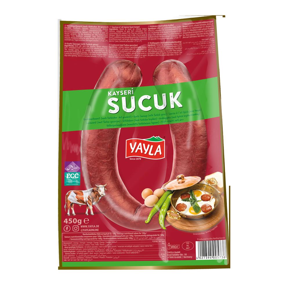 Sucuk – Knoblauchwurst