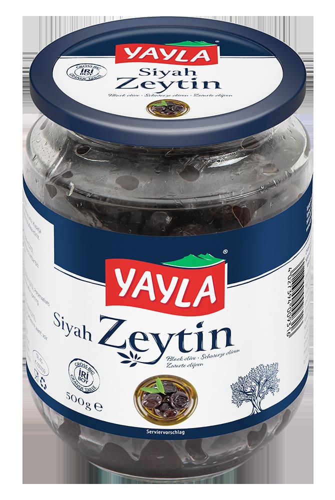 Natürliche schwarze Oliven (Groß)